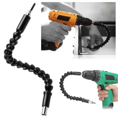 Steel Electric Screwdriver Drill Bits Extension Connecting Rods Holder Useful