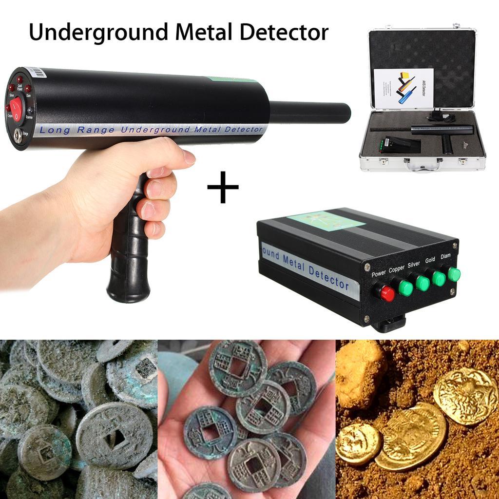 800m Range Search Gold Metal Underground Detection Locator Detector Scanner