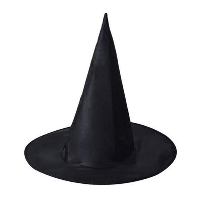 Halloween Products Children Adult Black Oxford Wizard Witch Hat Witch Hat
