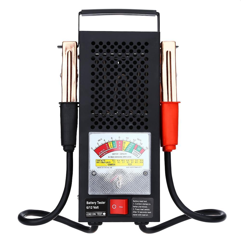 T16594 Automotive Vehicular Electromobile 6v 12v Battery Load Tester New Auto Electrical Circuit Car Garage Equipment Light 1 Of 11