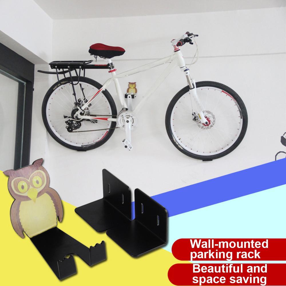 Bike Bicycle Storage Hanger Stand Rack Pedal Tire Wall Mount Bracket Display Hot