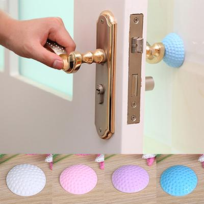 Hardware Starfish Shape Door Lock Protective Sticker Thickening Mute Handle Door Protective Bumpers Buffer Guard Stopper Pad Sticker Hot Fashionable Patterns Door Hardware & Locks