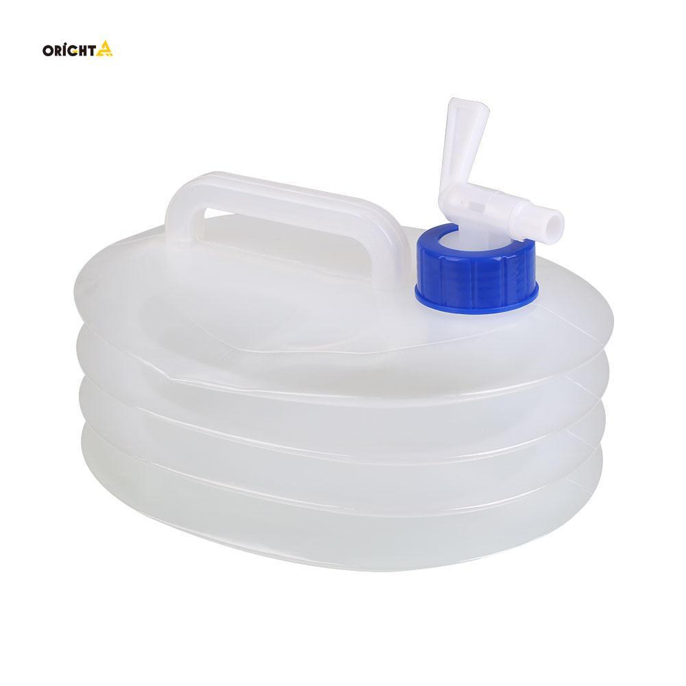 Climbing 10L Water Bottle Folding Container Bag Bladder Collapsible Barrel