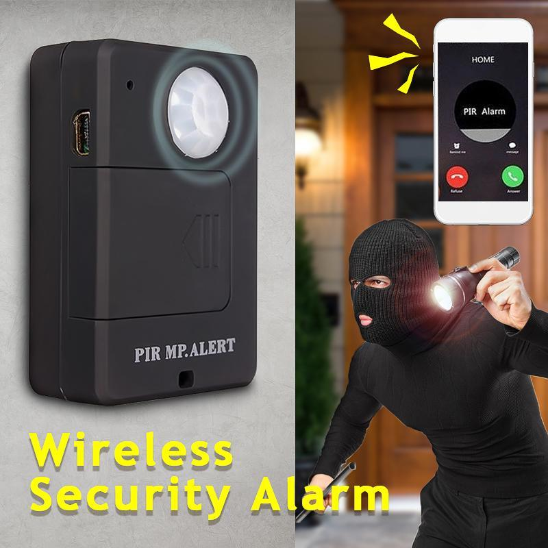 Security Camera Home Room Anti Theft PIR Motion Voice Activated Device