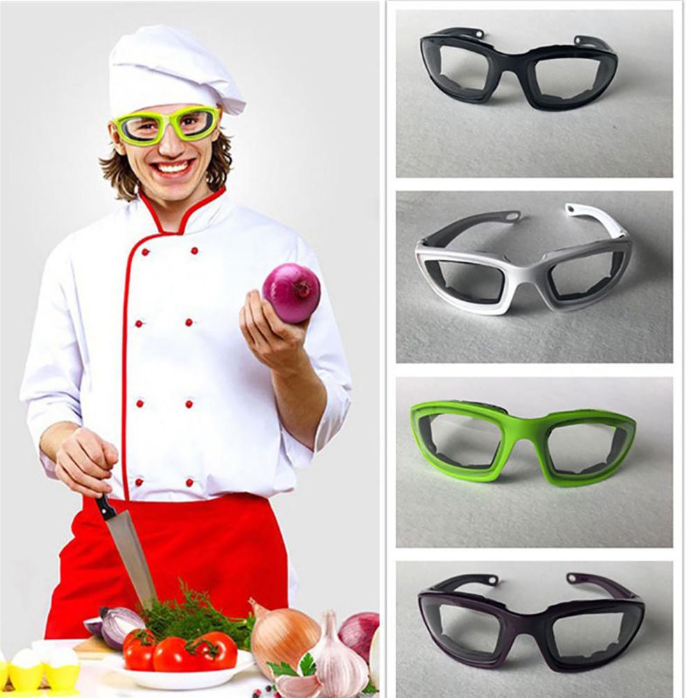 Safety Gadget Kitchen Accessories Onion Goggles Glasses Spectacles Cooking