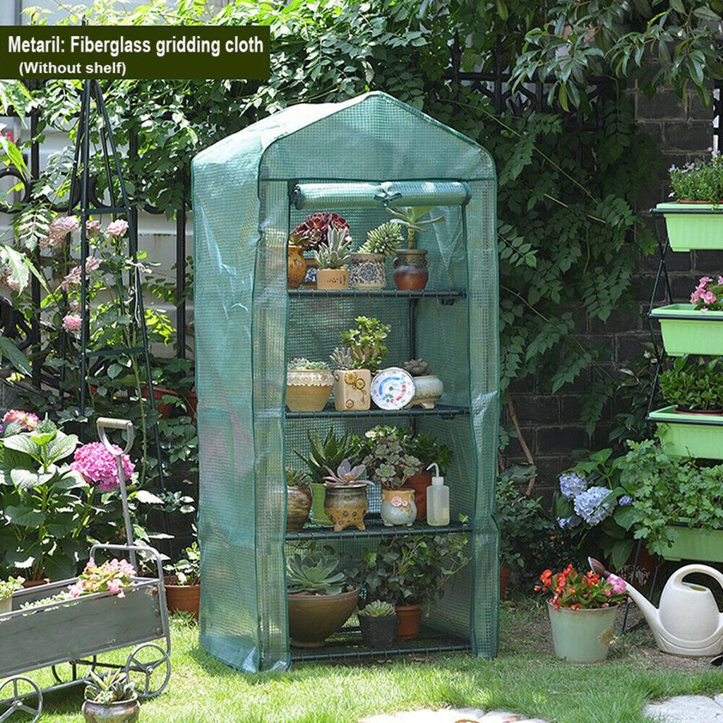 Waterproof UV Protected Greenhouse Plant Greenhouse Cover for Grow Seeds Potted Plants Small Without Shelf Seedlings