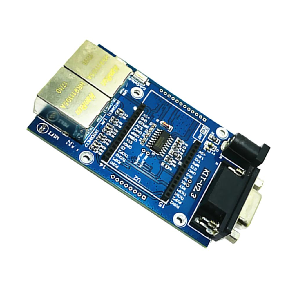HLK-RM04 UART to WIFI Serial Port to Wifi Module Test Base Board TOP