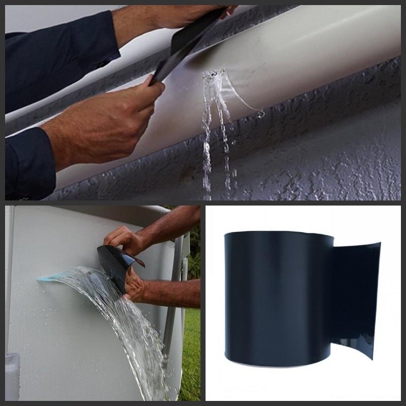 Flex Leakage Repair Waterproof Tape Tube Underwater Sticker Tools Strong Dropshop Garden Water Bonding Fast Rescue Repair Stop Home