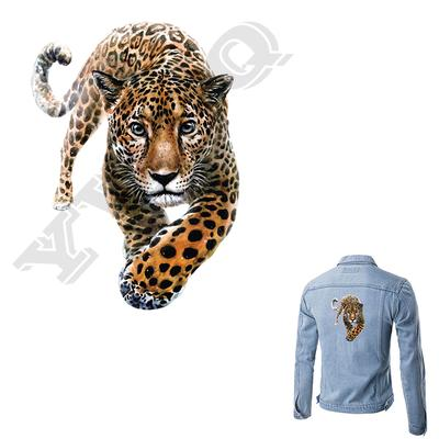 Tiger Patch Iron On DIY Accessory Clothing Decor Heat Transfer Washable Badges Applique On Clothes