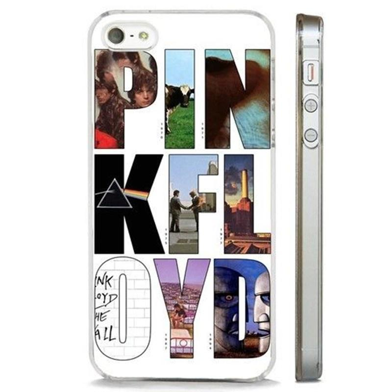 Pink Floyd Album Art Rock Band Clear Phone Case Cover Fits Iphone 4 5 6 7s Plus 8 X Case Samsung
