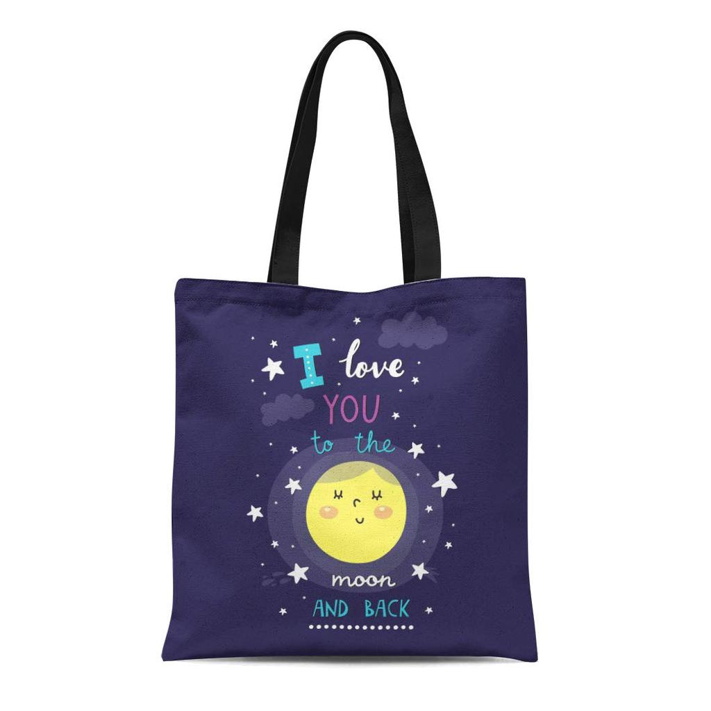 For The Love of Donuts Canvas Shopper Tote Bag