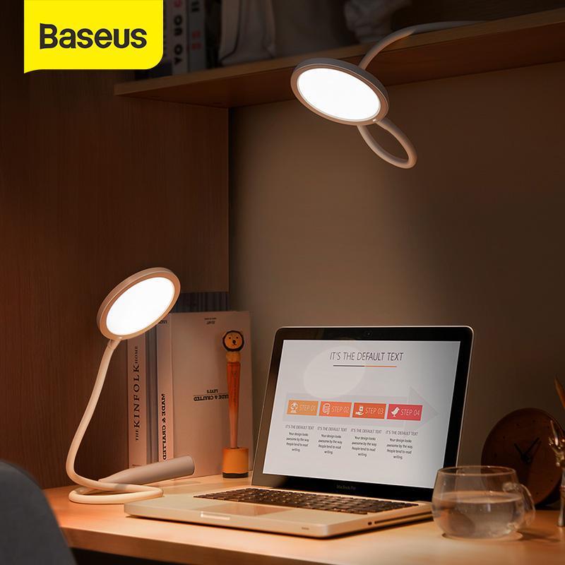 Baseus Foldable Desk Lamp 4000k Eye, Folding Desk Lamp Dimmable