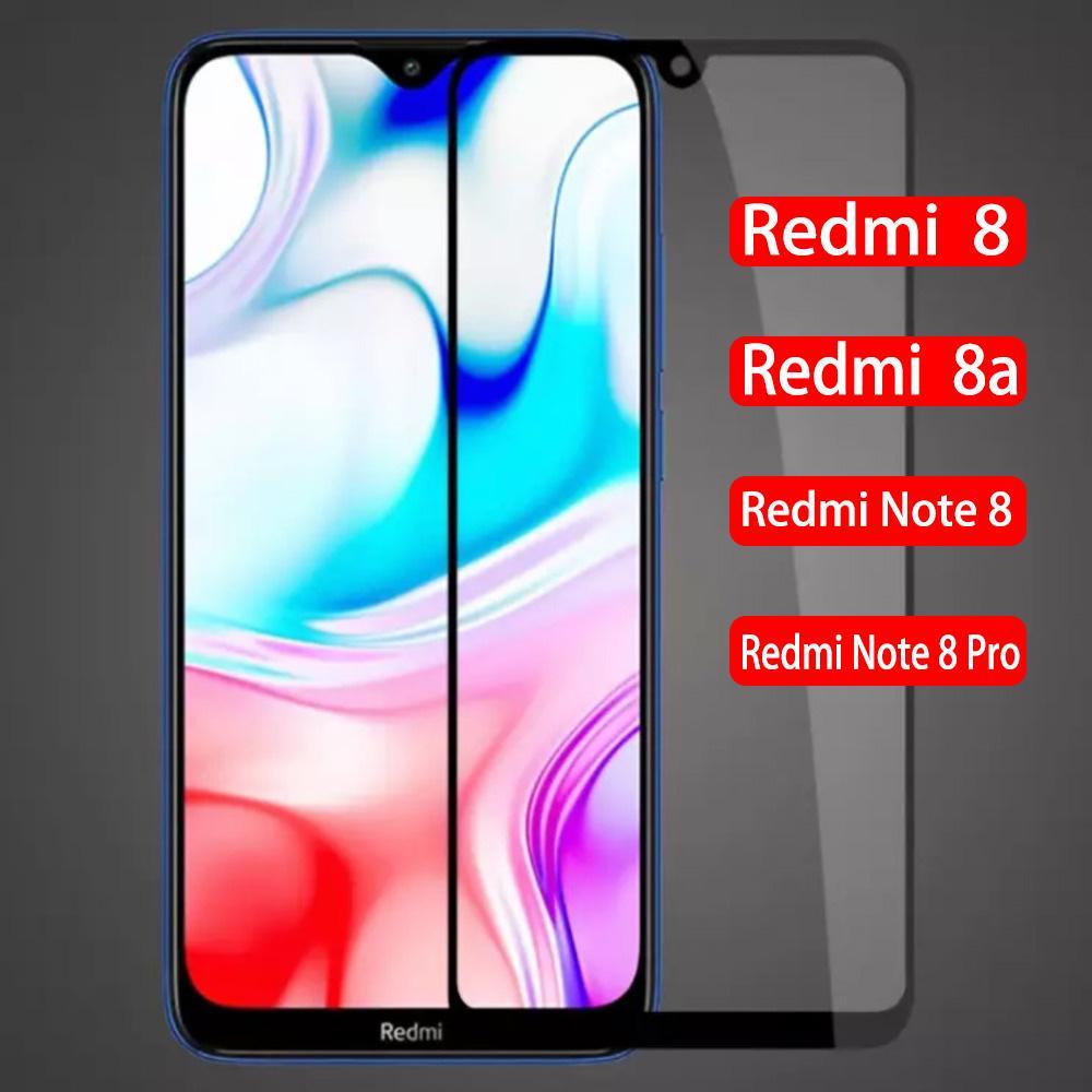 3D Полная обложка закаленное стекло для Xiaomi Redmi Примечание 8 Pro защитник защиты экрана Телефон Аксессуары на Xiaomi Redmi 8 8A Фронт фильм