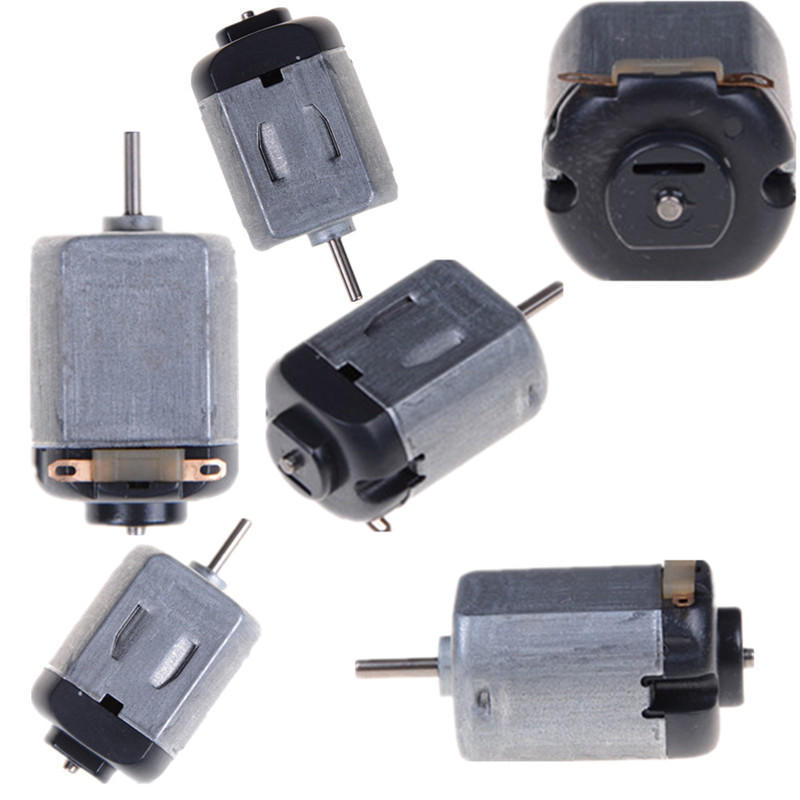 5pcs 130 DC Mini Micro Motor 3V-6V 8000RPM Gearmotor Shaft Model Metal Torque