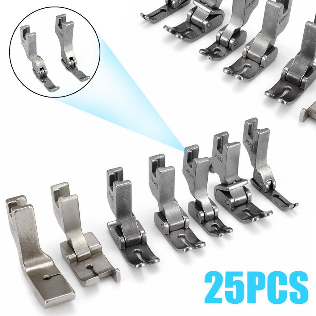 2 Invisible Zipper Pied étroit Charnière De Guide De Haute Tige pour JUKI DDL-8500 8700