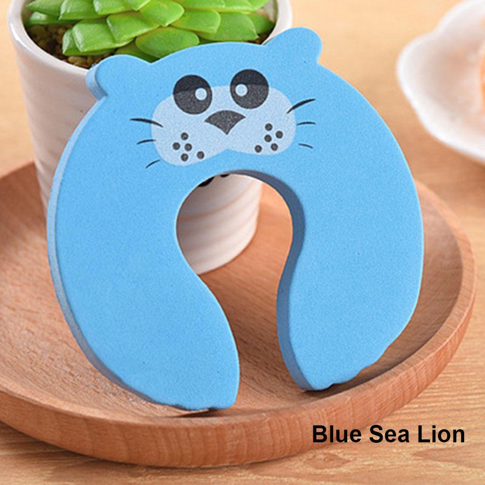 Cute Baby Proofing Toddler Finger Safety Guard Door Stoppers Foam Slam