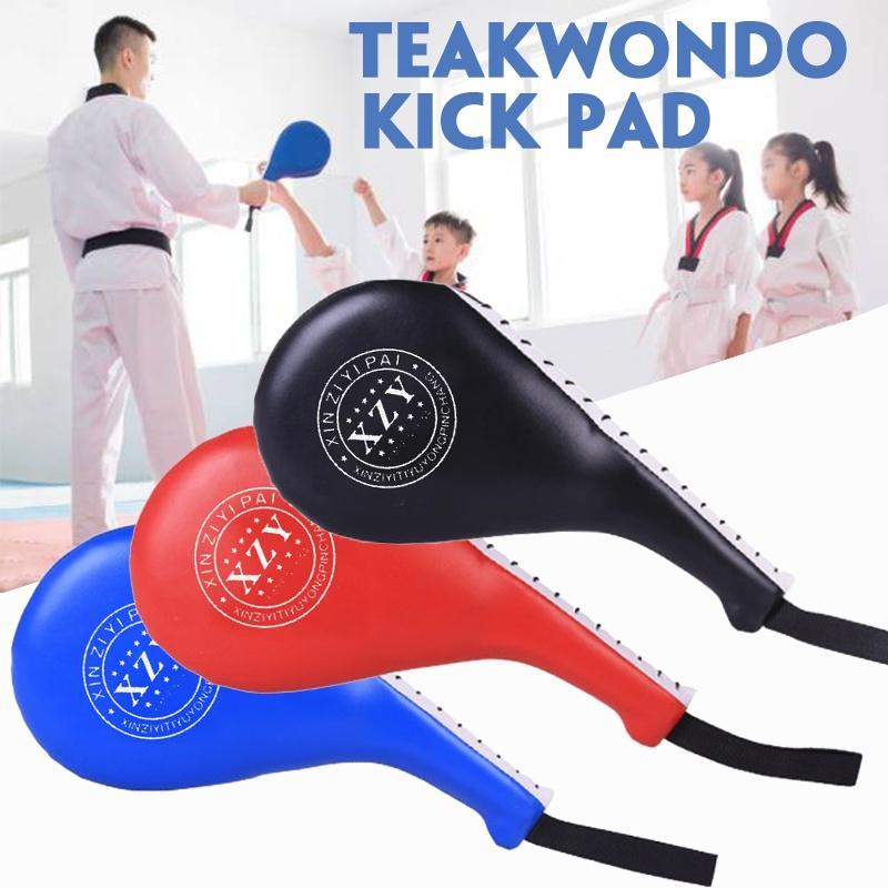 Taekwondo Pair Double Kick Pad Target Tae Kwon Do Karate Kickboxing MMA Training