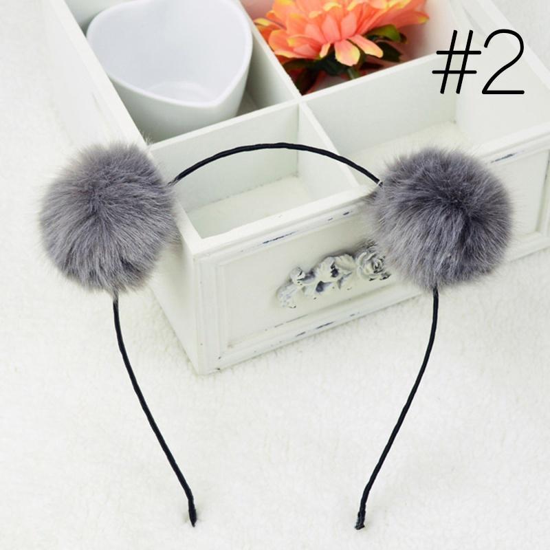 Pelz pelzigen Ohren flauschige Kaninchen Fell Frauen Stirnband Haarband