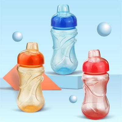 500ML Baby Kids Children Feeding Drinking Water Bottle Cup With Straw Portable