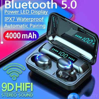 Bluetooth 5.0 CVC8.0 Noise Reduction Stereo Wireless TWS Bluetooth Headset