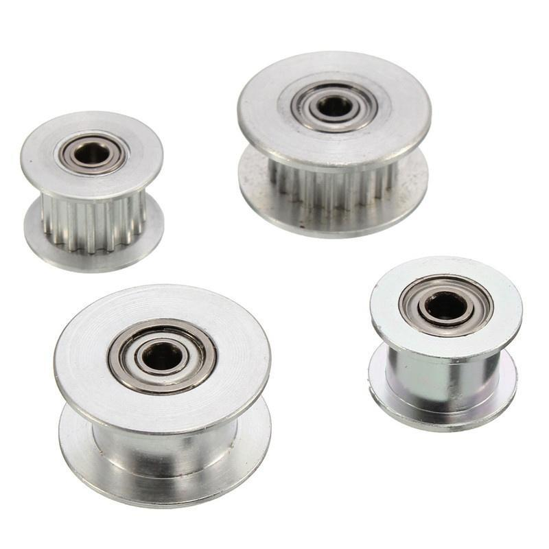 4Pcs 20T GT2 Aluminum Timing Drive Pulley With Tooth For DIY 3D Printer