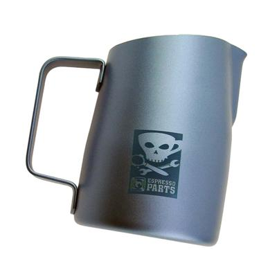 Espresso Milk Frothing Pitcher Stainless Latte Art Coffee Jug 420ml Gray