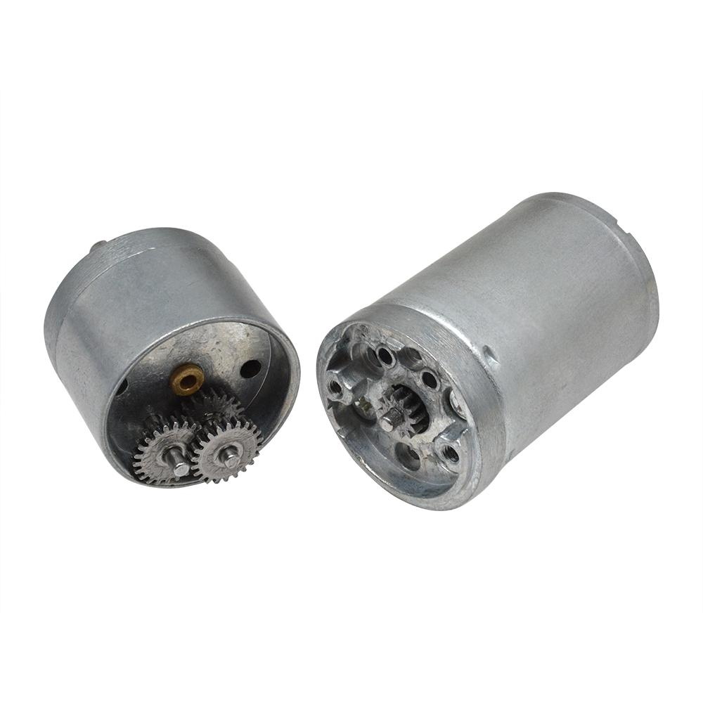 Gear Motor Electric Metal Drivewith Gearwheel 12 V-60 RPM