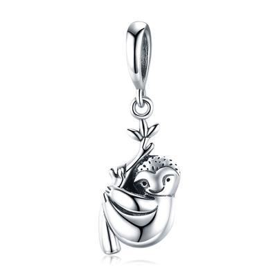 100/% 925 Sterling Silver Happiness Key Heart Shape Pendant Charm Fit Women Bracelets /& Necklaces Jewelry Gift