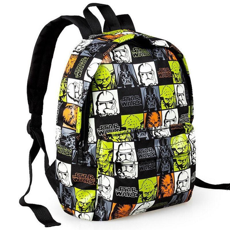 54042c2179db Детские Детские детей Звездных войн рюкзак школьный мальчиков ...