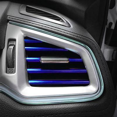 NUOVE Originali AUDI A8 10-16 Sinistro N//S Portiera ANTERIORE B-Pilastro Tagliare Coperchio Gloss Nero