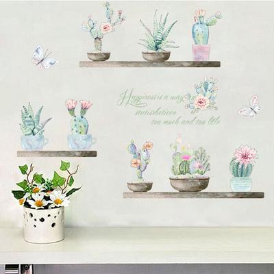 Cactus Flower  Vinyl Decal