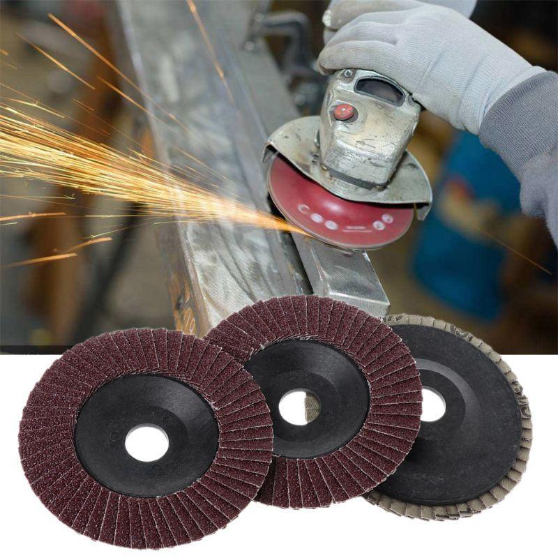 Sanding Polishing Wheels Grinding Tool Rust removal 100x16Mm Polishing