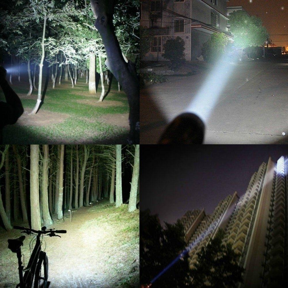 8000LM Taschenlampe CREE T6 LED Superhelle Taktische Military Torch Outdoor DHL