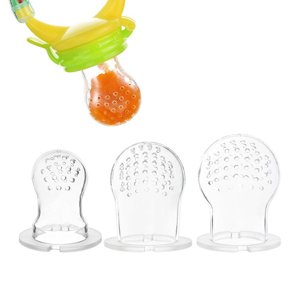 Мягкие силиконовые соски Baby бутылки свежих продуктов Зубастик дети фрукты фидер ниппель