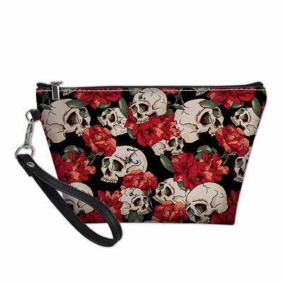 4752fe9bab22 Women Cosmetic Bag Border Collie Functional Make Up Bags Girls ...