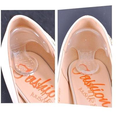 Practical 1 Pair Silicone Shoe High Heel Dance Insole Pad Gel Grips ... 0a0933649361