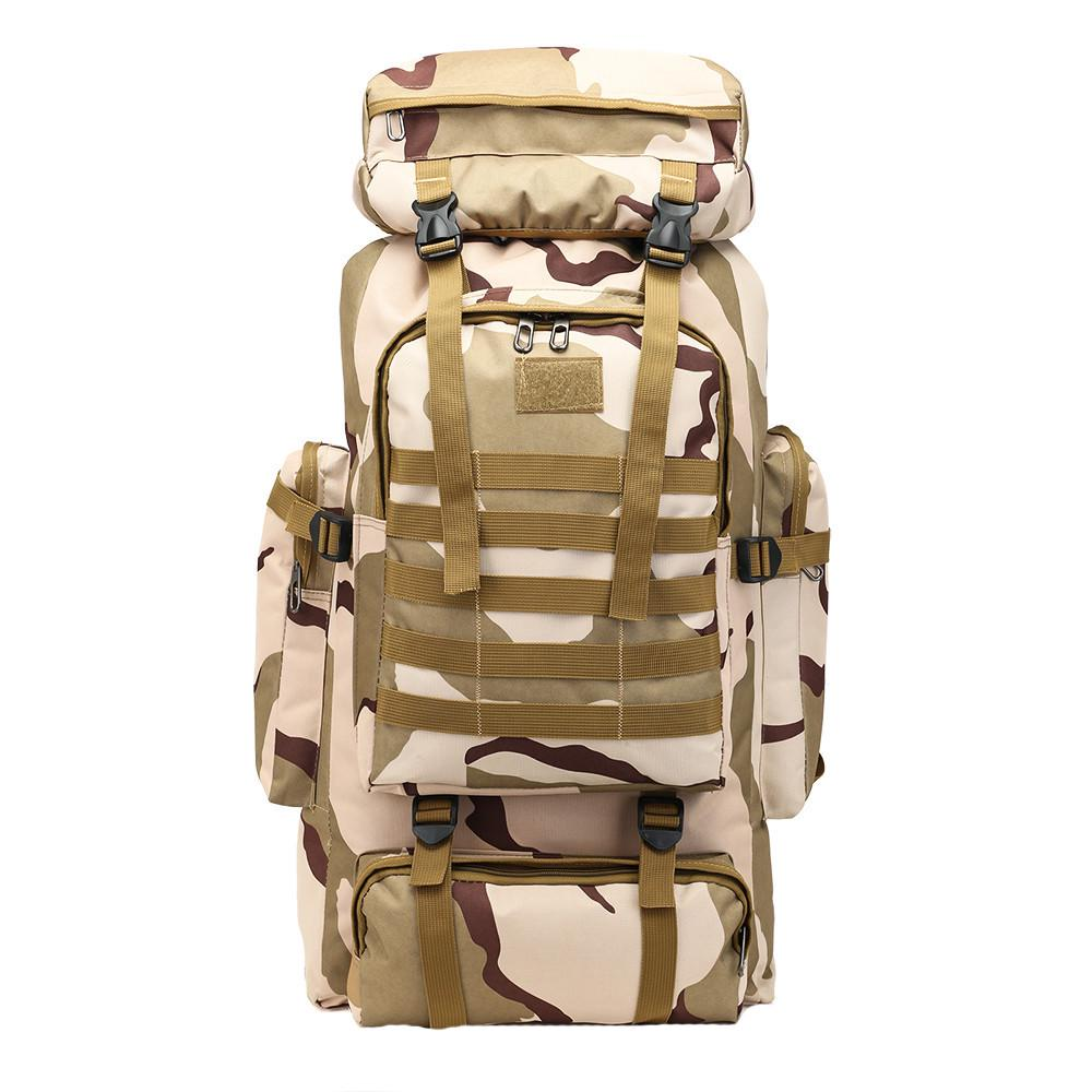 60L Outdoor Military Tactical Camping Hiking Trekking Backpack