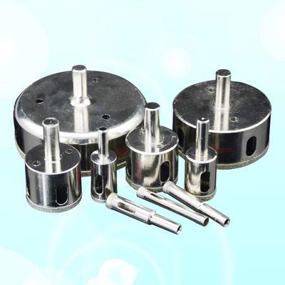 M14 Tri-flatted Hex Round Shank Diamond Drill Bits For Porcelain Tile Ceramics