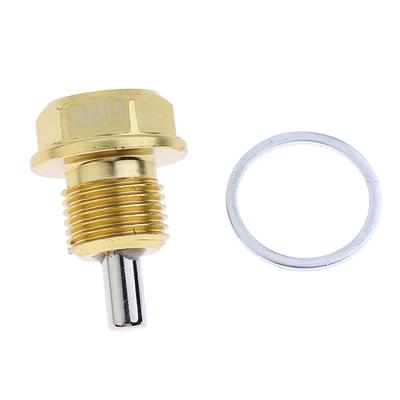 M12X1.25 M14X1.5 M20x1.5 Anodized Magnetic Engine Oil Pan Drain Bolt Plug Green