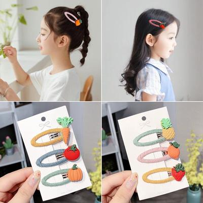 10x Baby Girl Candy Color Kid Girl Hairpin BB Snap Hair Clips Hair Accessory Hot