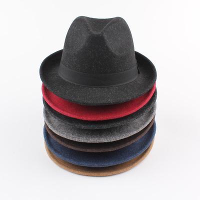 Todo el Anself Fedora sombrero Unisex sol sólido cofia sombrero Panamá  sombrero 28093842c31