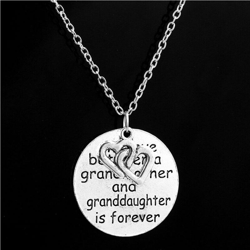 Custom Jewelry Grandmother Daughter and Granddaughter Sterling Silver Family Tree Necklace Personalized Necklace set