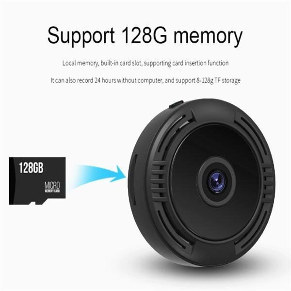 F8 Mini IP WIFI камера 1080P HD видеокамера Беспроводной видеорегистратор для домашней безопасности Камера ночного видения – купить по низким ценам в интернет-магазине Joom