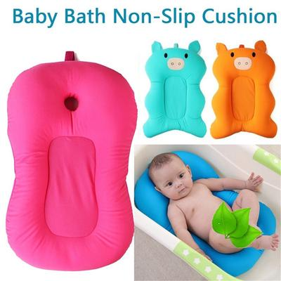 Baby Bather Infant Bath Support Bath Seat Pad,Bath Seat Support Net,Floating Soft Baby Bath Pillow /& Lounger Newborn Pad Tub Cushion