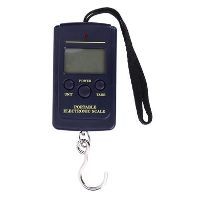 Digital Luggage Scale Fishing Weight Electronic Pocket Hanging Hook 40kg//10g