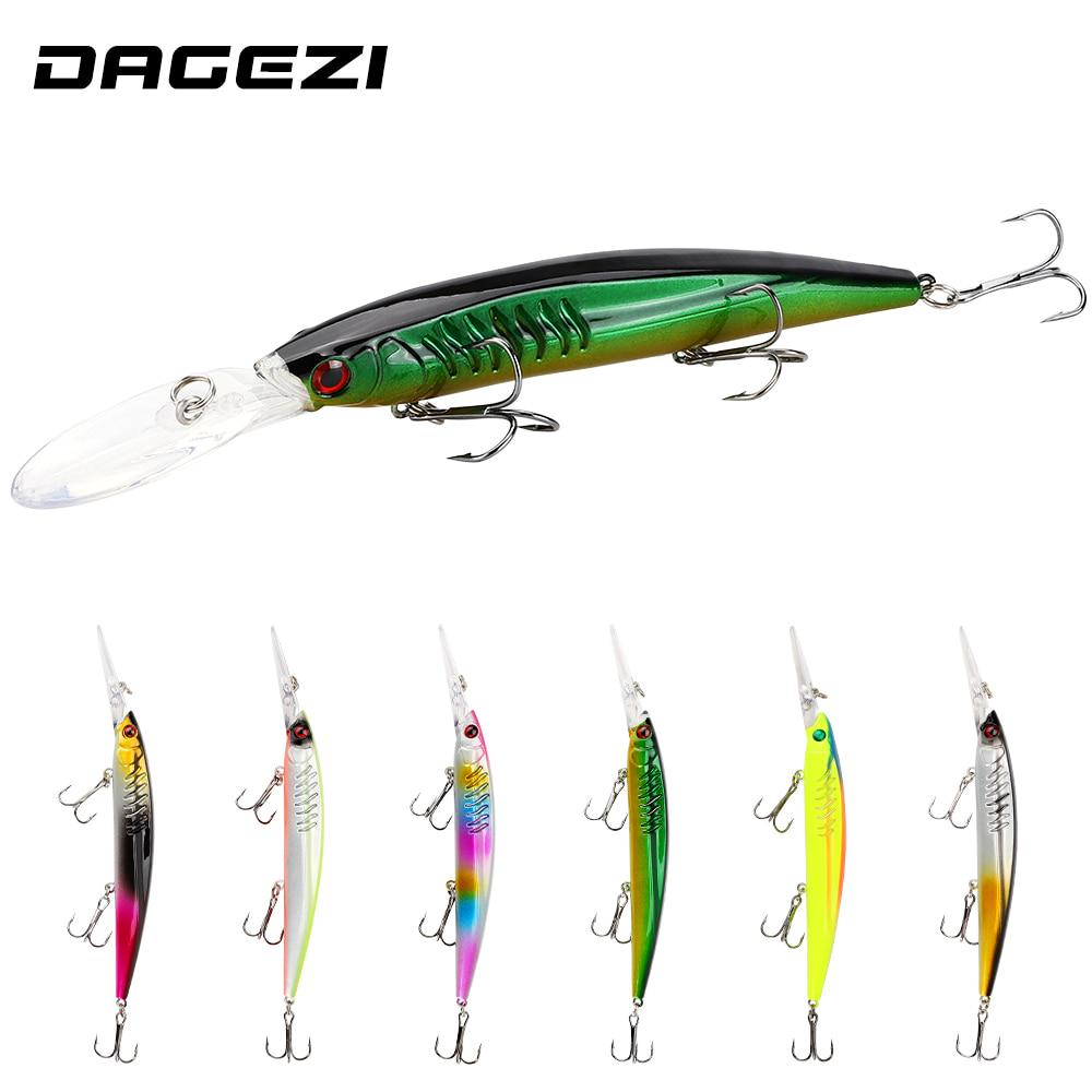 Details about  /Professional 151mm Hard Fishing Bait Lure Minnow Sinking Depth 60g Plastic