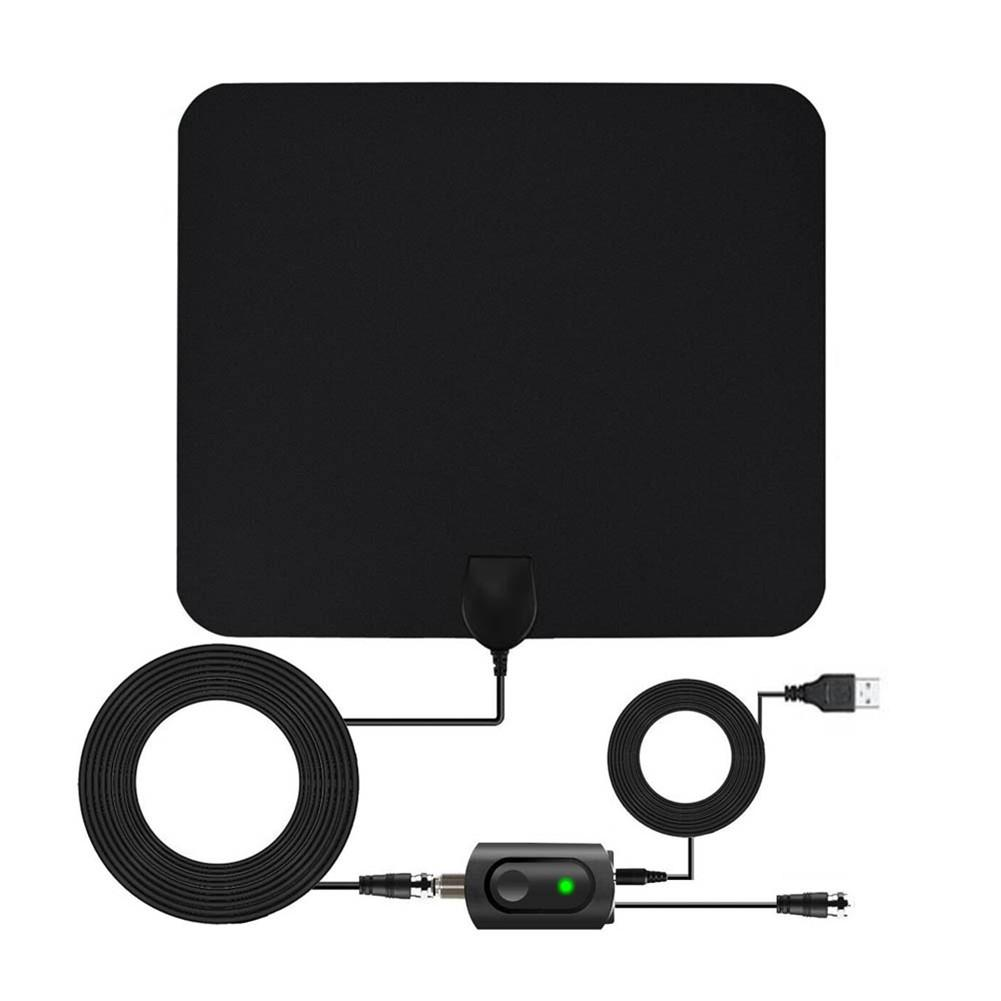 Digital TV HDTV 80 Miles Long Range HQ Indoor Antena Freeview 4K 1080P HM