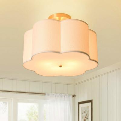 Pendant Light Fixture Chandelier Simple Modern Bedroom Study Fabric Ceiling Lamp With 5w Led Warm Light Buy At A Low Prices On Joom E Commerce Platform