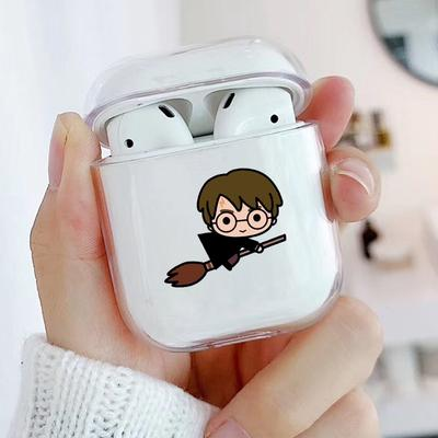 New Cute Cartoon Pattern Transparent Hard Pc Protective Case Cover