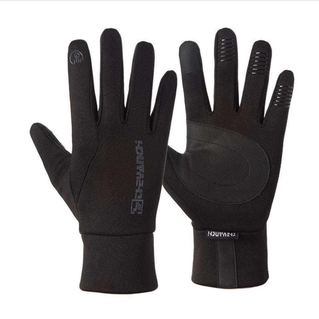 Women Men Warm Outdoor Sport Waterproof Windproof Screen Induction Glove Chic